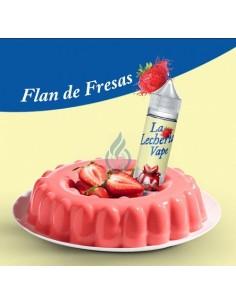 LÍQUIDO Flan de Fresas de La Lecheria 50ml