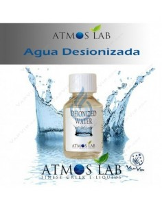 Agua Desionizada 100ml de Atmos Lab