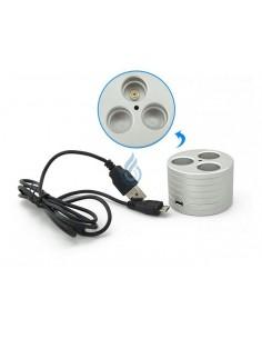 Soporte cargador ALUMINIO (XL-USB)