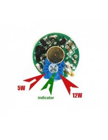 KICK para potencia (VW) variable