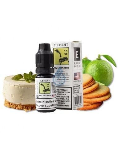 Key Lime Cookie en SALT de nicotina 10ml de Element E-liquid