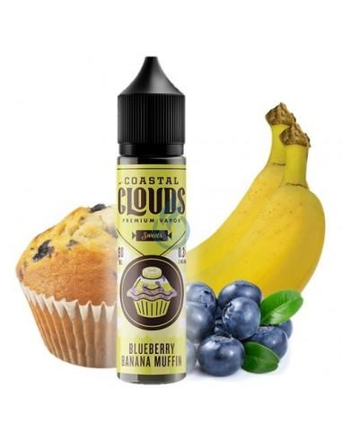 Líquido Sweets Blueberry Banana Muffin de Coastal Clouds 50ml