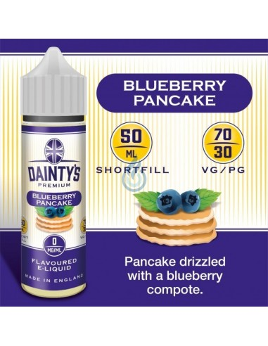 Blueberry Pancake de Dainty's Premium 50ml