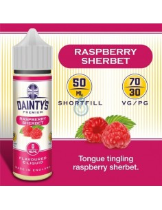 Raspberry Sherbet de Dainty's Premium 50ml