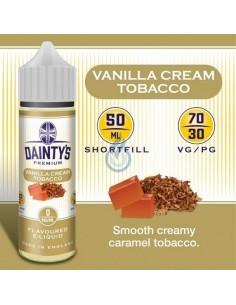 Líquido Vanilla Cream Tobacco de Dainty's Premium 50ml