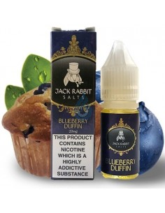 Líquido NIC SALT Blueberry Duffin de Jack Rabbit