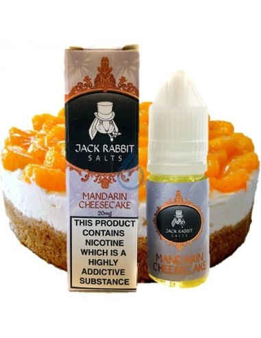 Líquido NIC SALT Mandarin cheescake de Jack Rabbit