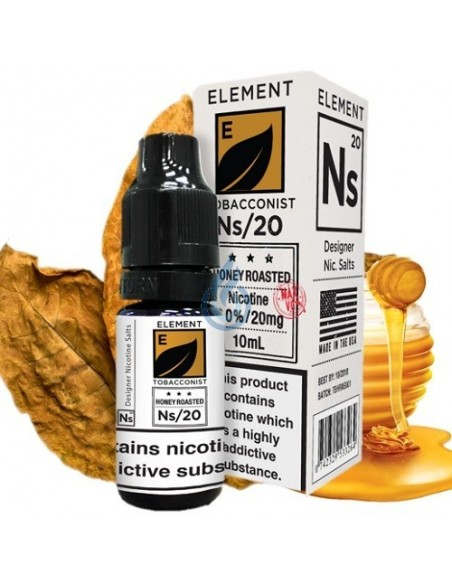 Honey Roasted Tobacco en SAL de nicotina de Element E-liquid