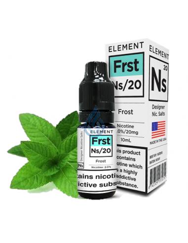 Frost en SAL de nicotina de Element E-liquid