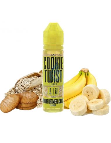 Líquido Banana Oatmeal Cookie de Cookie Twist 50ml
