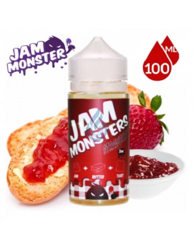 Líquido Strawberry de Jam Monster 100ml