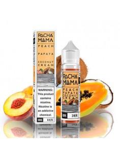 Líquido Peach Papaya Coconut Cream de Pachamama