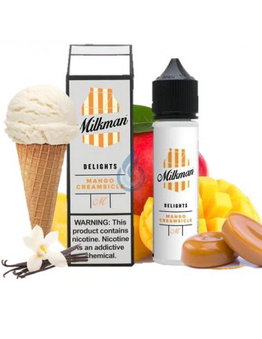 Líquido Delights Mango Creamsicle de The Milkman 80ml