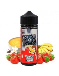 Líquido Custards Strawberry & Banana de Moreish Puff 100ML