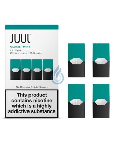 PACK DE 4 CARTUCHOS Menta 20mg/ml para JUUL