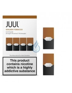 PACK DE 2 CARTUCHOS Aroma Tabaco Rubio 20mg/ml para JUUL