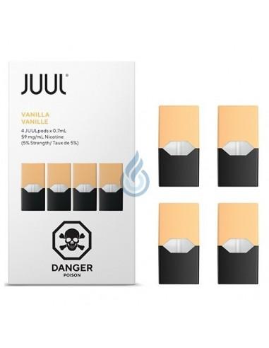 PACK DE 4 CARTUCHOS Vainilla 20mg/ml para JUUL