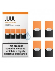 PACK DE 4 CARTUCHOS Mango 20mg/ml para JUUL