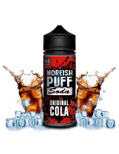 Líquido Soda Original Cola de Moreish Puff 100ML