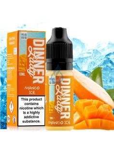Líquido Mango Ice 50/50 de Dinner Lady 10ml