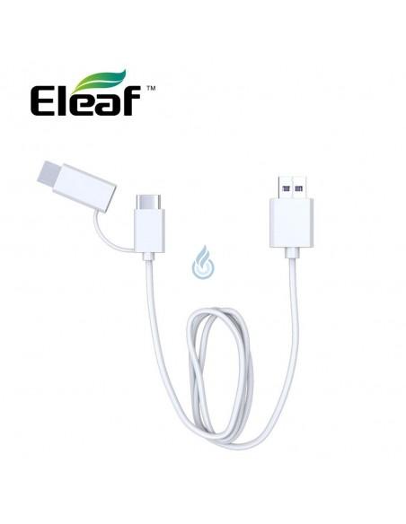 Cable USB a USB Tipo-C y Micro USB de Eleaf