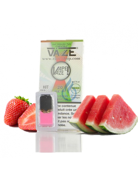 CARTUCHO Strawberry Watermelon 20mg/ml para JUUL de Vaze