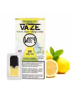 CARTUCHO Ultra Lemon 20mg/ml para JUUL de Vaze
