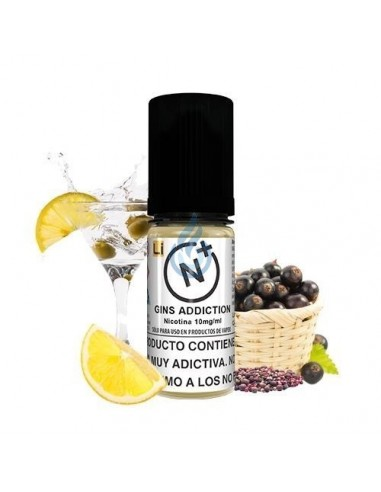 Líquido NIC SALT Gins Addiction de Halcyon Haze 10ml