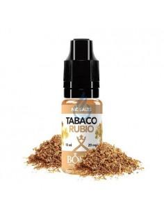 LÍQUIDO NIC SALT Tabaco Rubio de Bombo 10ml