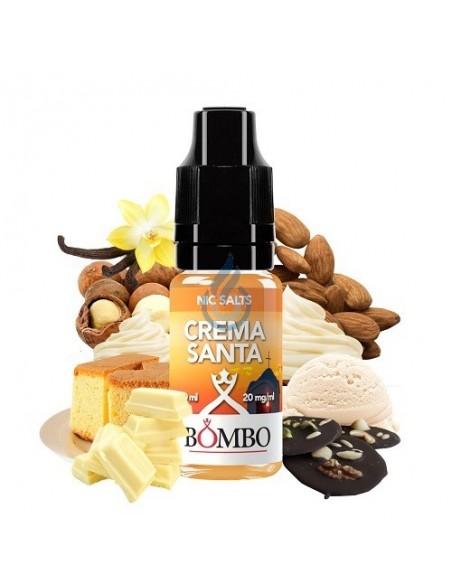 LÍQUIDO NIC SALT Crema Santa de Bombo 10ml