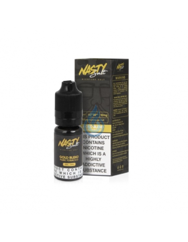 Líquido NIC SALT Gold Blend de Nasty Juice