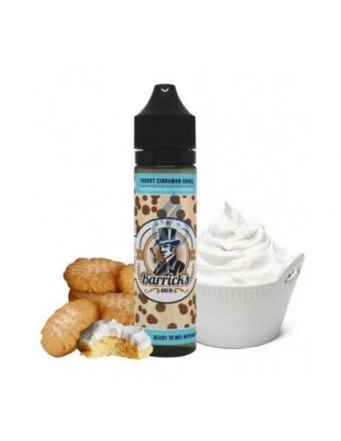 Líquido Yogurt Cinnamon Cookie de Barrick's Brew 50ml