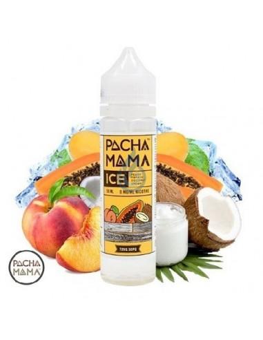 Líquido Peach Papaya Coconut Cream ICE de Pachamama