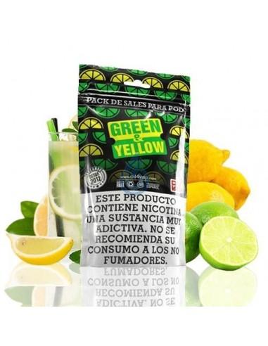 Pack Aroma Green & Yellow + NIKOVAPS SALT DE OIL4VAP