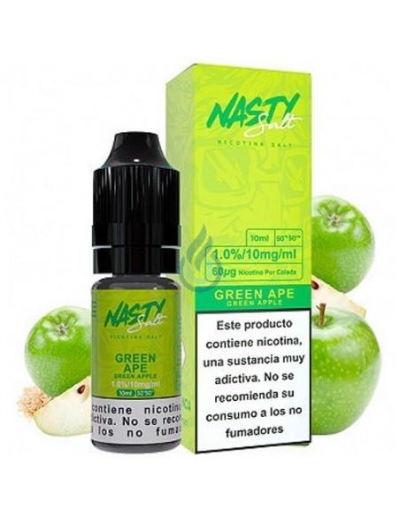 LÍQUIDO NIC SALT Green Ape de Nasty Juice 10ml