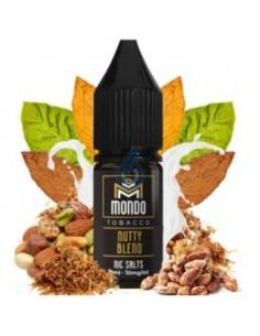 LÍQUIDO NIC SALT Nutty Blend de Mondo 10ml