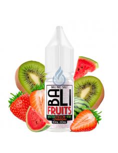 LÍQUIDO NIC SALT  Watermelon + Kiwi + Strawberry Bali Fruits de Kings Crest 10ml