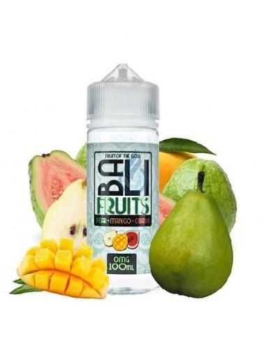 LÍQUIDO Pear + Mango + Guava Bali Fruits de Kings Crest 100ml