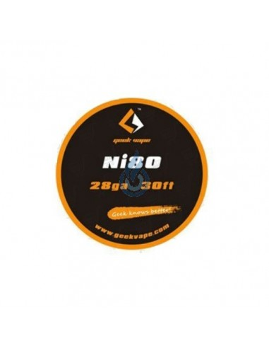 Hilo Nichrome Ni80 de Thunderhead