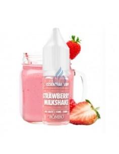 LÍQUIDO NIC SALT Strawberry Milkshake Essential Vape de Bombo 10ml