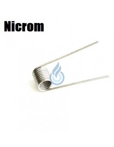 Micro Coil prefabricado NICROM