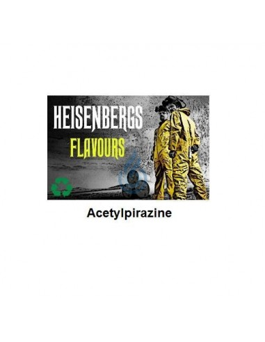 Molécula Acetyl Pirazine Heisenbergs Flavours