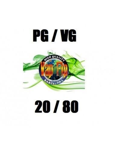 Base 20PG / 80VG de Vap Fip