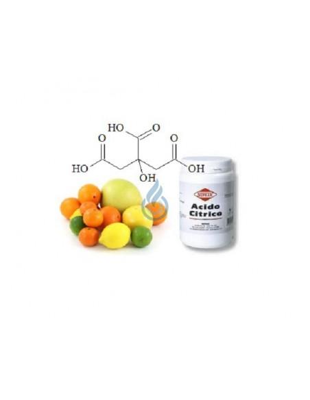 Molécula Ácido Cítrico de VapFip
