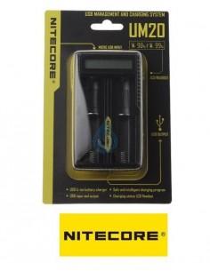 Cargador Nitecore UM20 (dual)