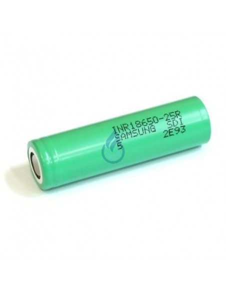 Batería Samsung INR18650-25R (2500mAh - 20A)