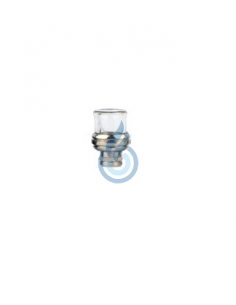 Drip Tip 510 Acero/Pyrex Round