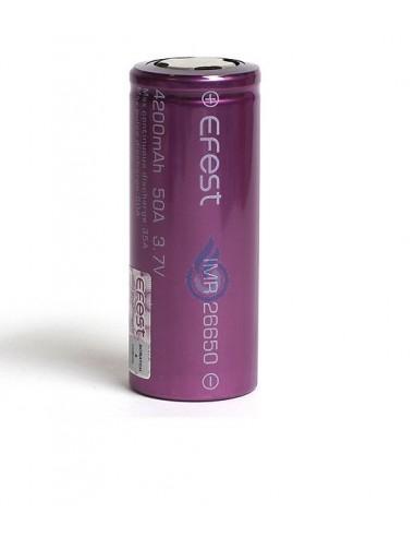 Batería Efest 26650 IMR (4200mAh - 50A)