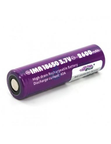 Batería Efest 18650 IMR (2600mAh - 40A)