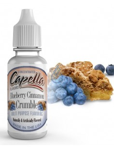 Aroma Blueberry Cinnamon Crumble Capella Flavour